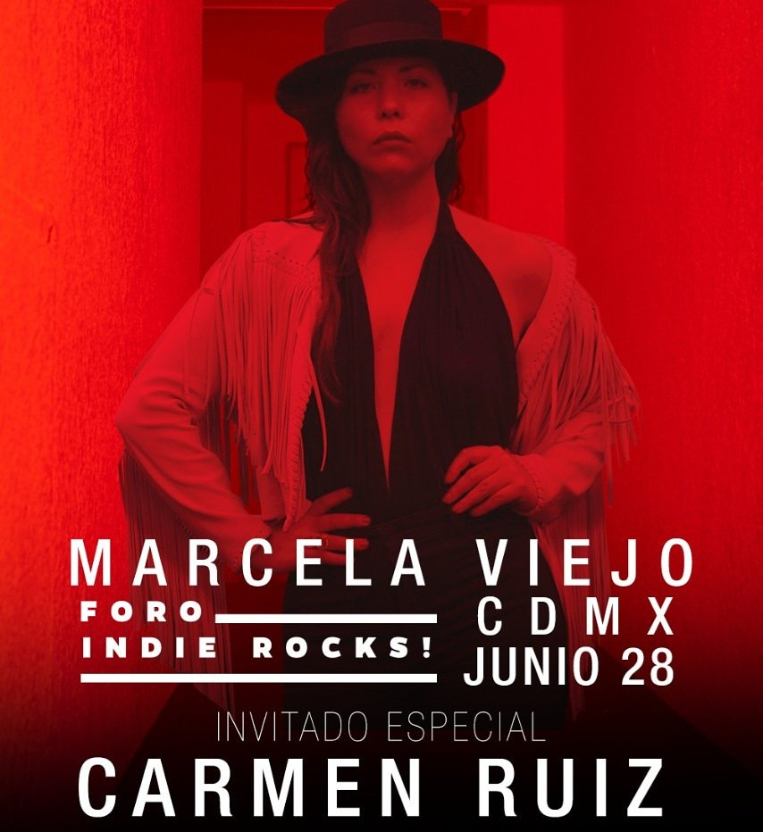 Segunda sorpresa revelada: @carmenruizmx 😍!! Mi querida Carmen se subirá al escenario del @foroindierocks a cantar conmigo el prox 28 de junio #PequeñasProfecíasEnVivo 😊😊😊😊 Ve el post completo aquí:👇 https://t.co/X3M1fQb7Gl https://t.co/2BXn4pA2aK