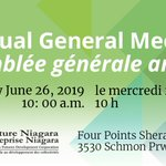 Image for the Tweet beginning: Venture Niagara invites you to