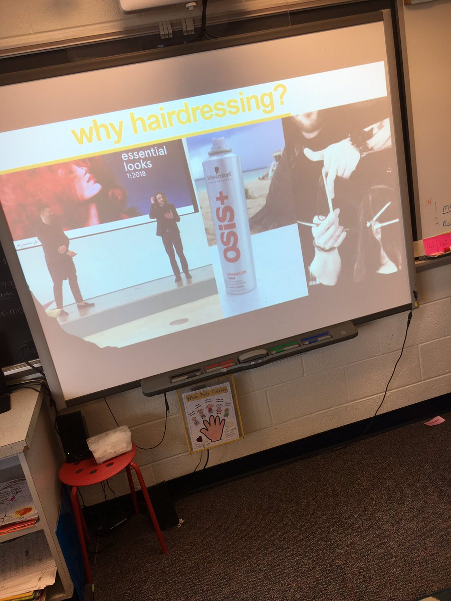 Career day! A visit from <a target='_blank' href='http://twitter.com/codyferro'>@codyferro</a> to learn about hair styling!<a target='_blank' href='http://search.twitter.com/search?q=Apsisawesome'><a target='_blank' href='https://twitter.com/hashtag/Apsisawesome?src=hash'>#Apsisawesome</a></a> <a target='_blank' href='http://search.twitter.com/search?q=HFBTweets'><a target='_blank' href='https://twitter.com/hashtag/HFBTweets?src=hash'>#HFBTweets</a></a> <a target='_blank' href='https://t.co/kpyBvojEfa'>https://t.co/kpyBvojEfa</a>