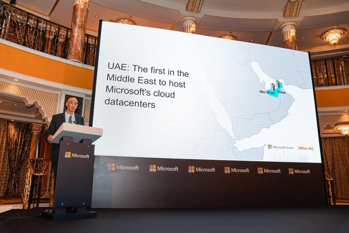 Making big news today, @microsoftgulf has launched two new @Azure cloud regions in the #UAE in a bid to accelerate digital transformation across the #MiddleEast. http://www.itp.net/619208-microsoft-cloud-datacenter-regions-now-available-in-the-uae…