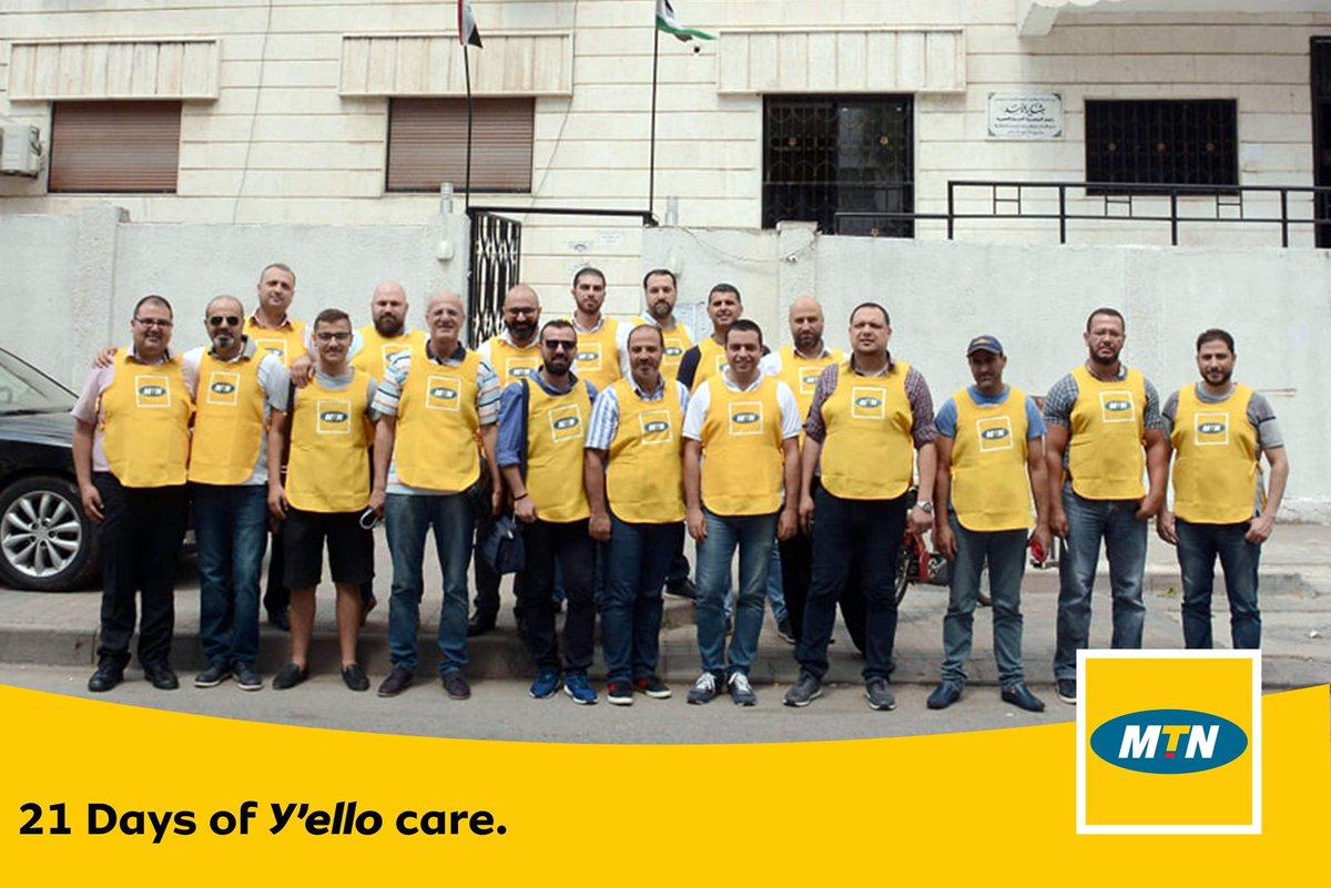 شارك موظفي شركة MTN بمحافظة اللاذقية في المبادرة الأولى ضمن برنامج 21 يوماً من رعاية ييلو حملة تبرع بالدم، في مركز نقل الدم في اللاذقية دعماً لمرضى الثلاسيميا.  #Yellocare #MTNSYRIA #SYRIA #BrighterLives