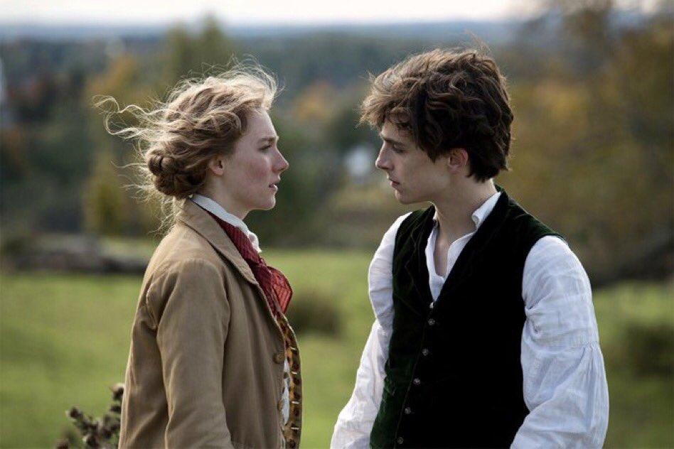 good morning to timothee chalamet's hair in little women only