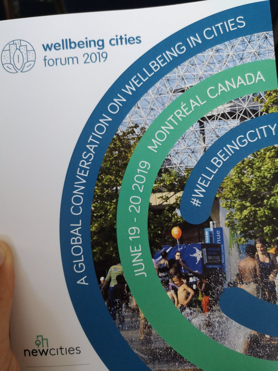 We're taking part in discussions over the next two days at @NewCities forum on #wellbeing cities. We want to know, what does well-being mean in your city and govt? What are the criteria, how can we measure it, and what does it mean for the average citizen?