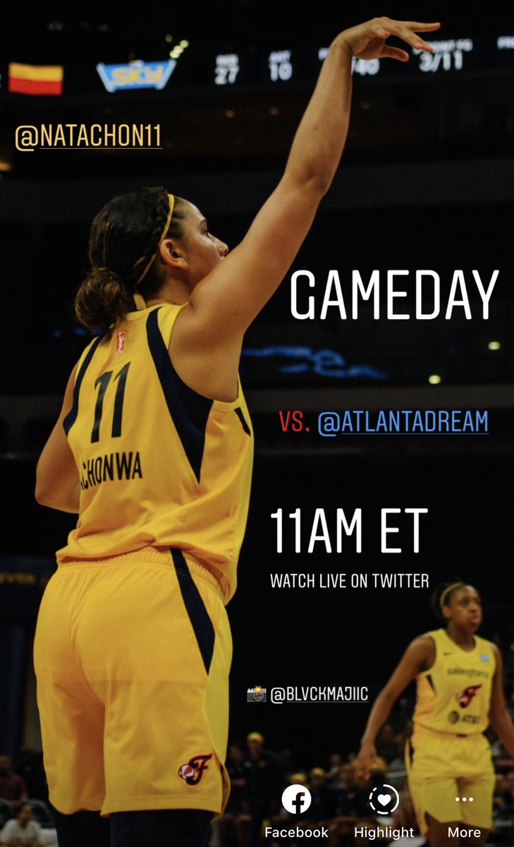 Tipoff on the way! Watch @IndianaFever v. @AtlantaDream right here on Twitter at 11am ET  🔥🏀⛹🏾♀️  #wnba #WNBAtwitter #live #allforlove