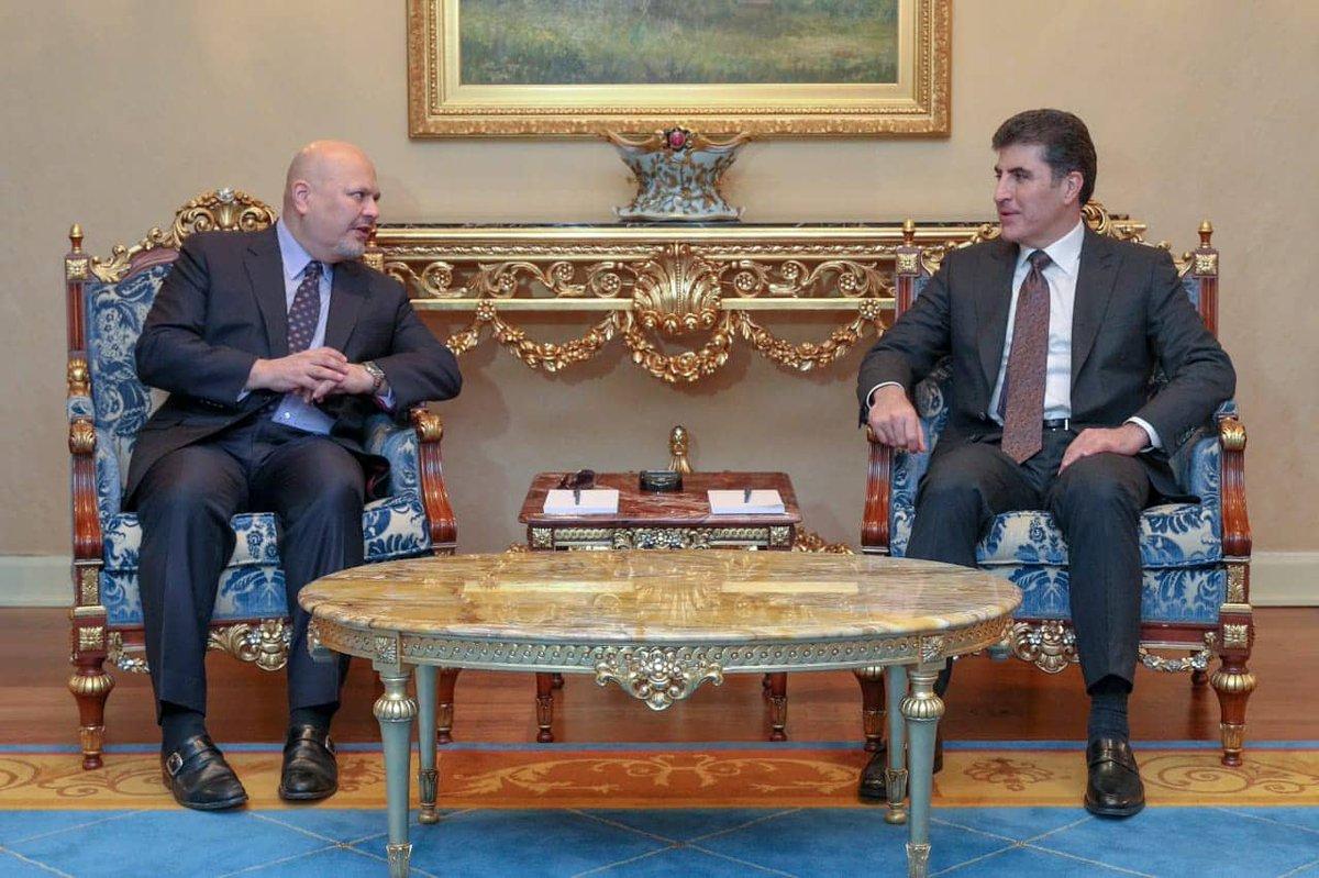 Kurdistan Region's president and UNITAD's Khan stress cooperation in documenting ISIS crimes  http://www.nrttv.com/En/News.aspx?id=13164&MapID=1… #NRTnews #TwitterKurds #UNITAD #UN #ISIS #Iraq