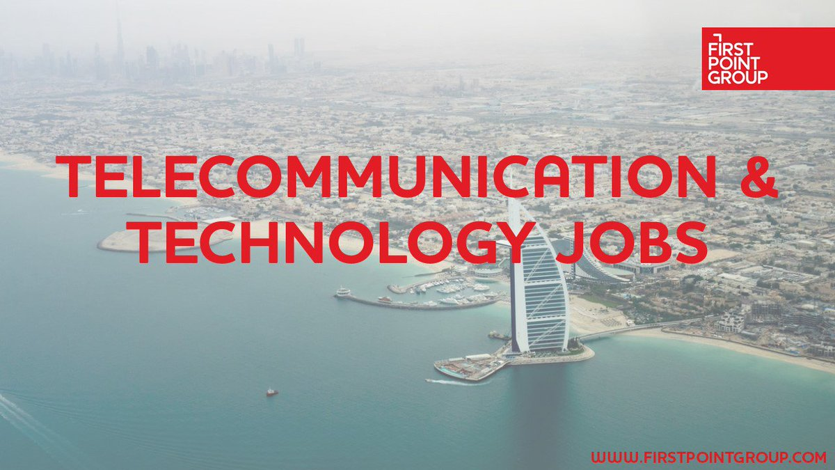 First Point Group are currently #recruiting for a number of #telecommunication & #technology roles in the #MiddleEast. Click the link to check out our available #jobs.  https://lnkd.in/de7CJH8
