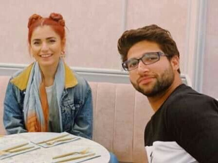 Imamul haq had some quality time in London with Momina Mustehsan!#CWC19