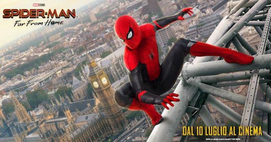 #Spiderman #FarFromHome: nuovo #spot #esteso, dove vengono svelati i #costumi. Dal 10 #luglio al #cinema. Link: https://m.facebook.com/story.php?story_fbid=768253223572746&id=337610673303672… #Marvel #MarvelCinematicUniverse #Mcu  #SupereroiMagazine