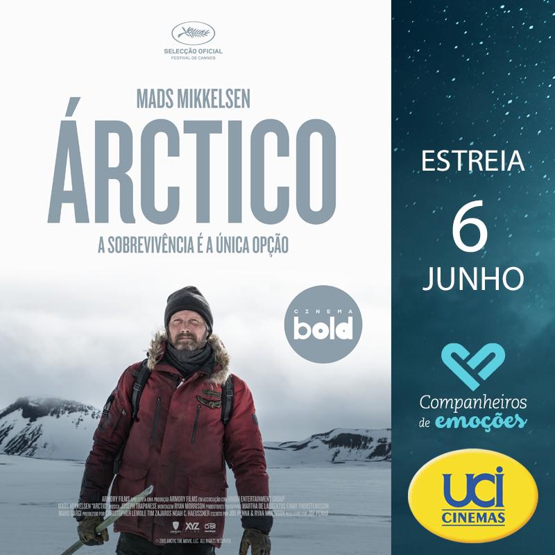 Árctico - A Sobrevivência é a única opção. Em exibição nos cinemas UCI, inserido no ciclo Cinema BOLD. +info: http://www.ucicinemas.pt/Filmes/arctico Trailer: https://youtu.be/eo5gt6a2t9A  #Estreia #Cinema #Filmes #UCICinemas #Árctico