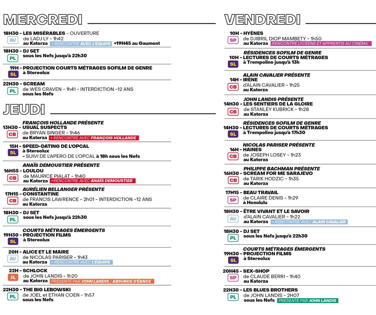 Dès ce soir, le @SoFilmFestival revient pour une 5ème édition jusqu'au 23 juin à #Nantes Ce soir : 🎬 18h30 LES MISÉRABLES de LADJ LY au Katorza 🎬 jusqu'à 22h30 DJ SET sous les Nefs 🎬 22H30 - SCREAM de WES CRAVEN sous les Nefs 👉https://bit.ly/31GYMPj  #culture #sortie #cinéma