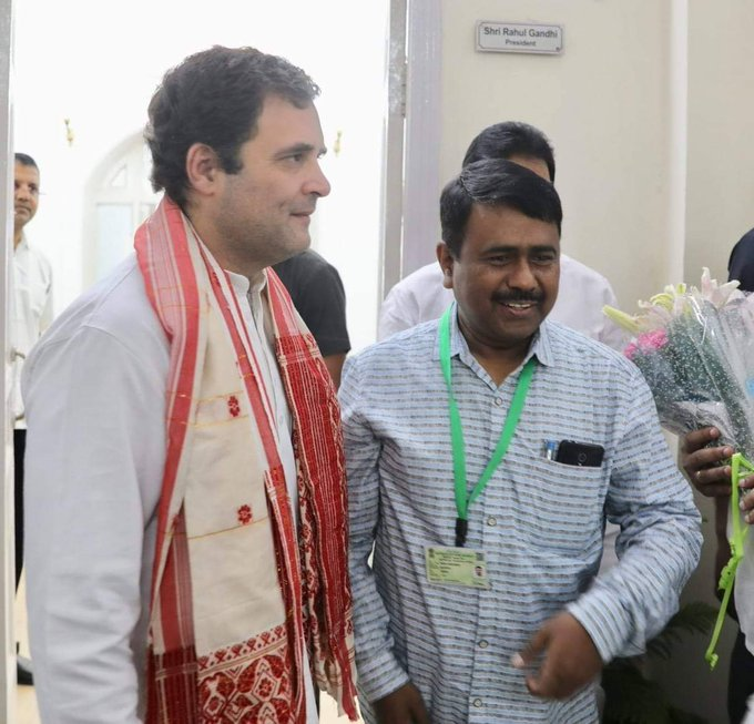 Happy Birthday Rahul Gandhi ji.
