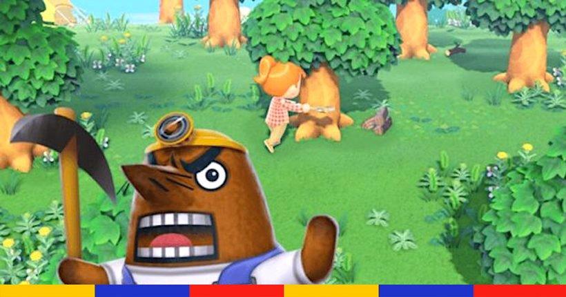 RIP Resetti : la taupe énervée a été renvoyée du prochain Animal Crossing 👉 konbini.com/fr/gaming/rip-…