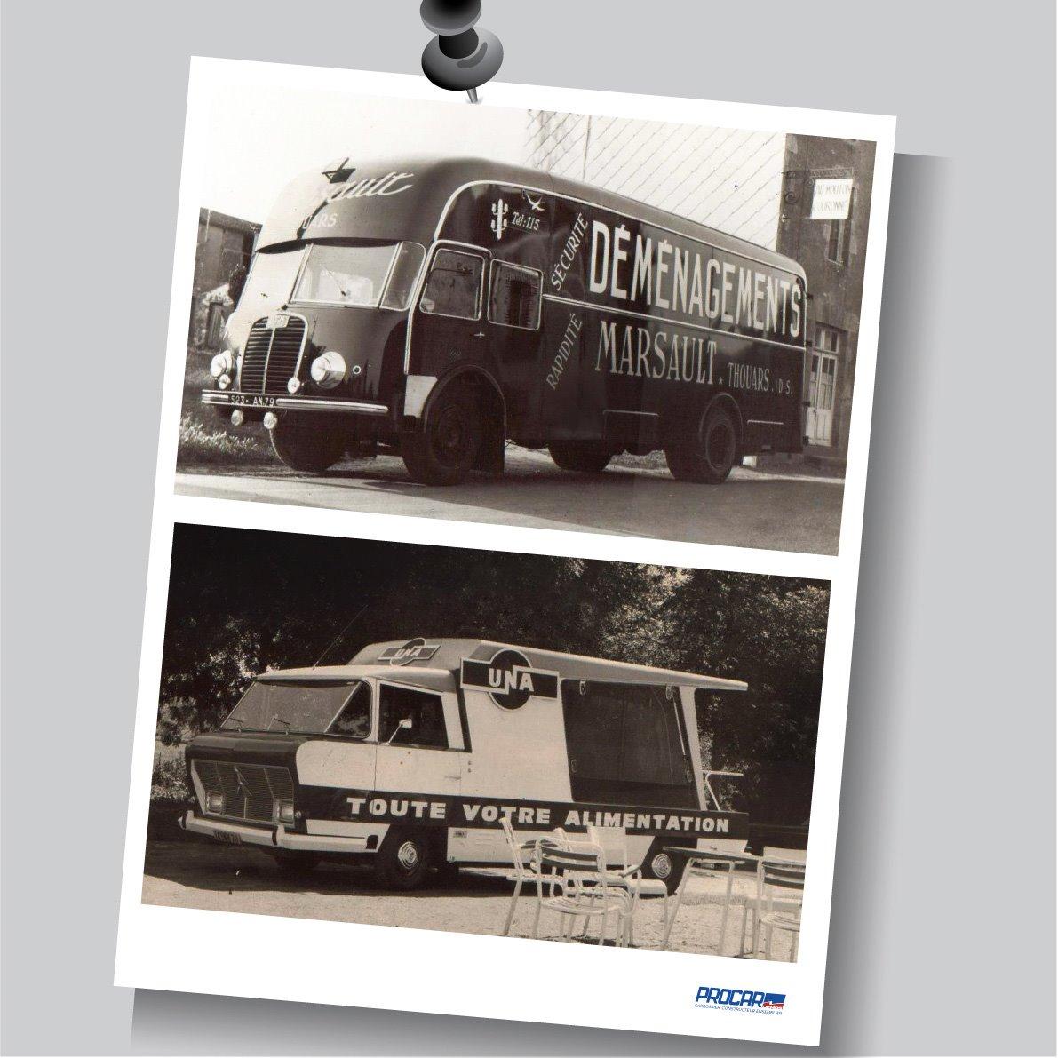 Un savoir-faire issu d'un siècle d'expérience !  Quelques réalisations d'époques ! 🚐🚍🇫🇷  #procardemas #carrosserie #constructeur #ensemblier #expériences #évolution # #véhicule #spéciaux #snfc #cinema