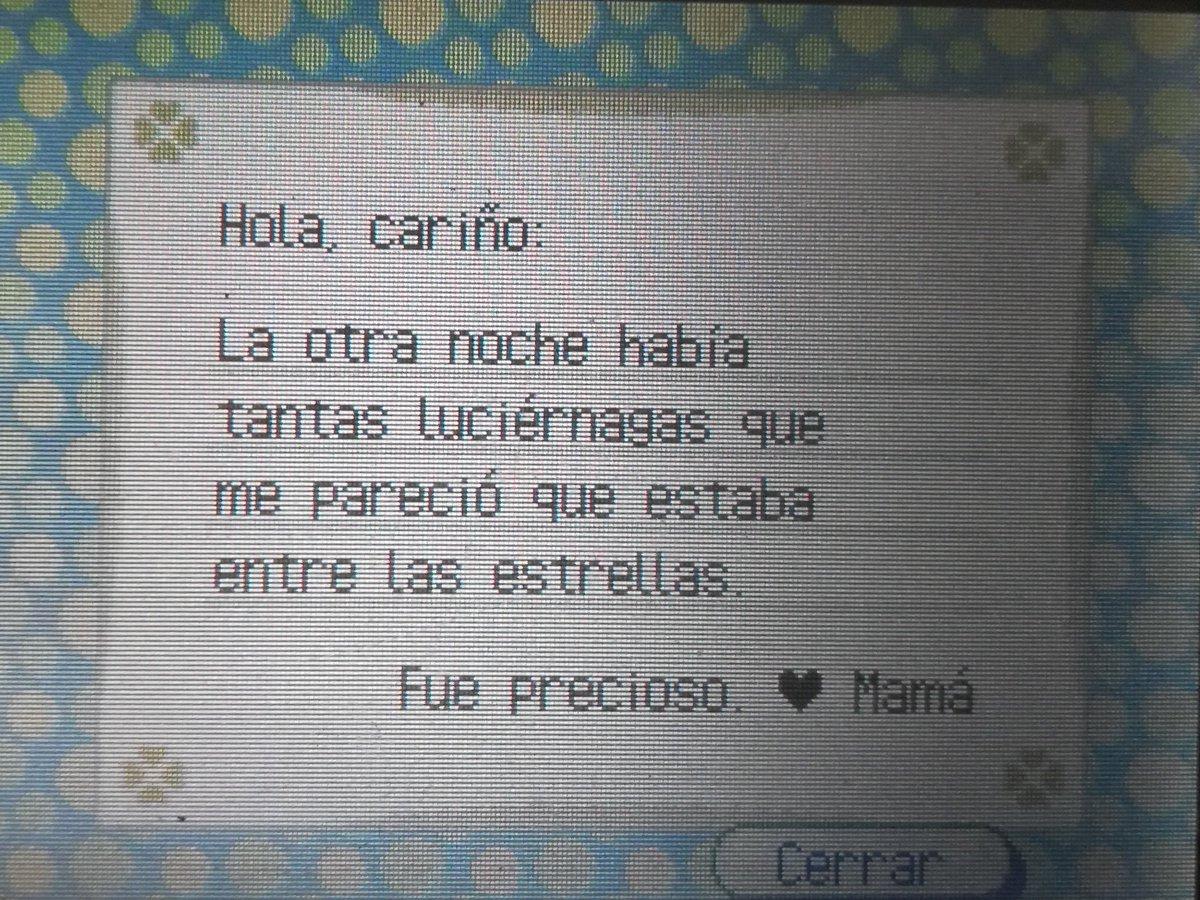 Las cartas de Mamá en el Animal Crossing posiblemente la cosa más tierna del universo. 💖