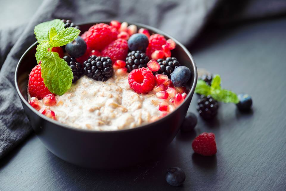 Don't forget breakfast. A good breakfast will set you up for the day and boost metabolism and energy. Ideal options include porridge, Bircher muesli or fruit and yoghurt #WellnessWednesday