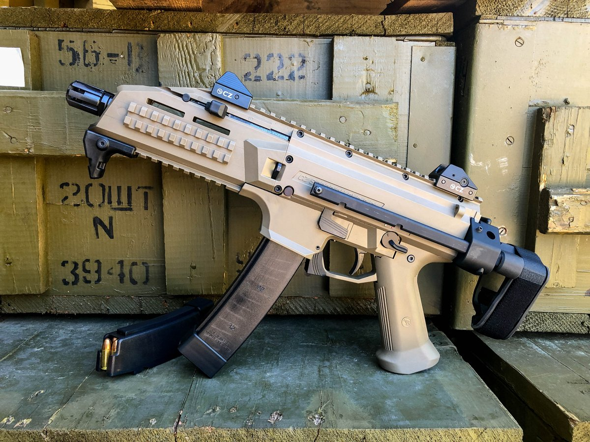 If you missed the big announcement yesterday, you'll want to read this. We're giving away a @czusafirearms Scorpion EVO 3 w/ binary trigger and brace! If you haven't signed up yet, be sure to head over to our site to start racking up your entries - https://www.classicfirearms.com/contest/win-a-cz-scorpion-evo3-binary-trigger-contest/…