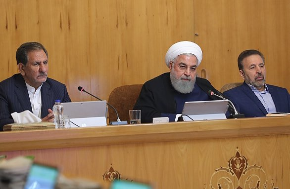 Our close relations with Asia & China has been reason for Some to attack tankers while Japanese PM was our guest.  Entire world saw Iran did whatever it could to help save the crews.  Nobody except for US, UK & their disciples, believed their propaganda ag Iran:  #Iran's Rouhani.