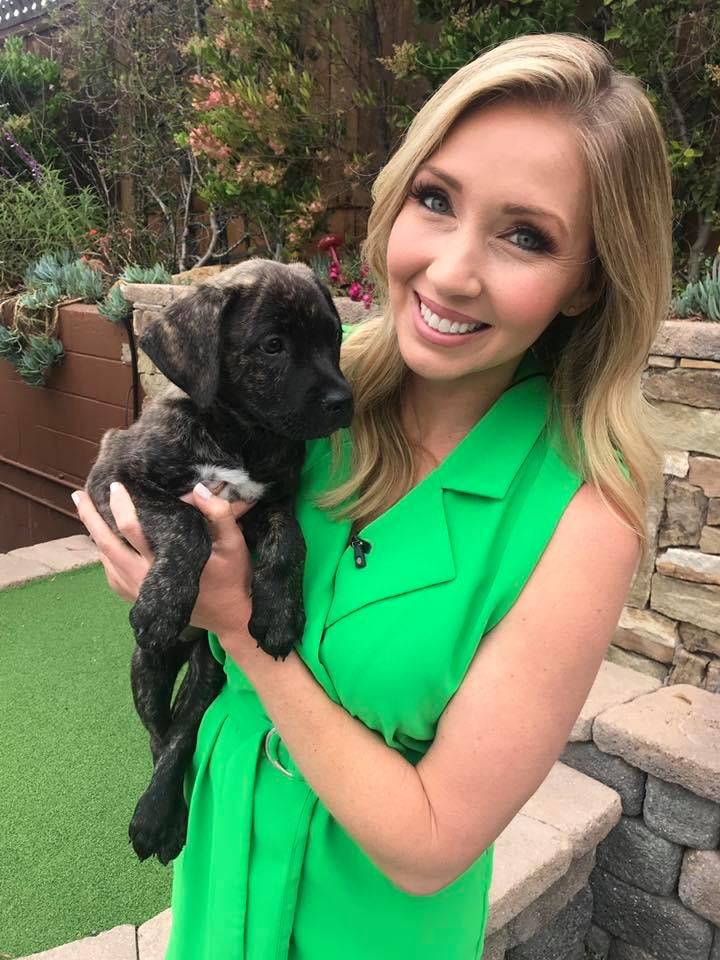 Puppy love with Heather Michele Lake today on the Fox 5