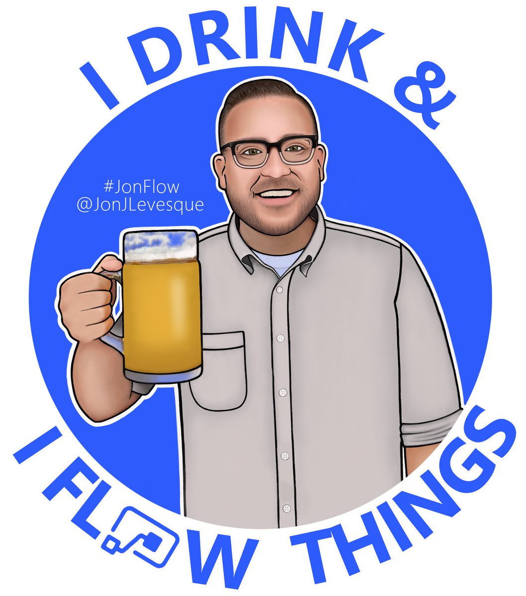 "🚨 MY STICKER IS COMPLETE 🚨   ""I Drink & I Flow Things!"" by the incredible @AlishaMitchum   #JonFlow #MicrosoftFlow #GOT"