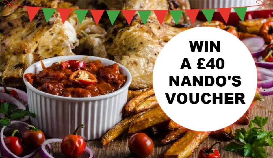 Brand new #competition on my blog this week: #win £40 to spend at Nando's - what's not to love? https://buff.ly/2KZQeNz #giveaways