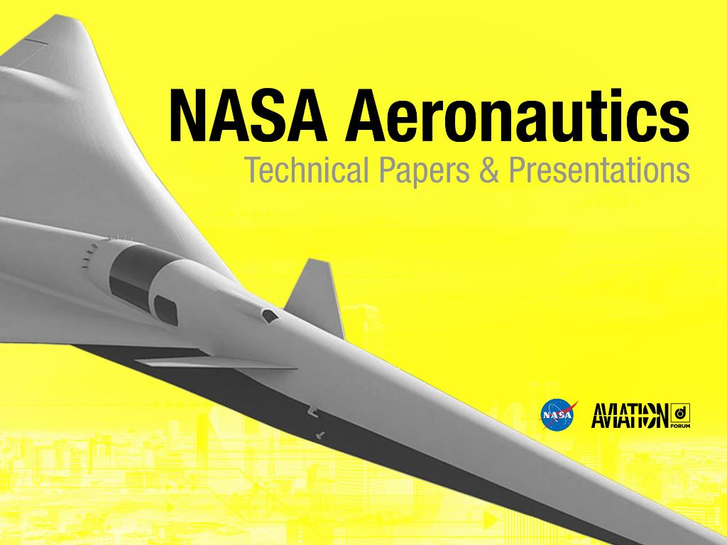 Today at 4PM in Cortez C: Recent Enhancements to NASA's PCBoom Sonic Boom Propagation Code with Joel Lonzaga of @NASA_Langley. #AIAAaviation