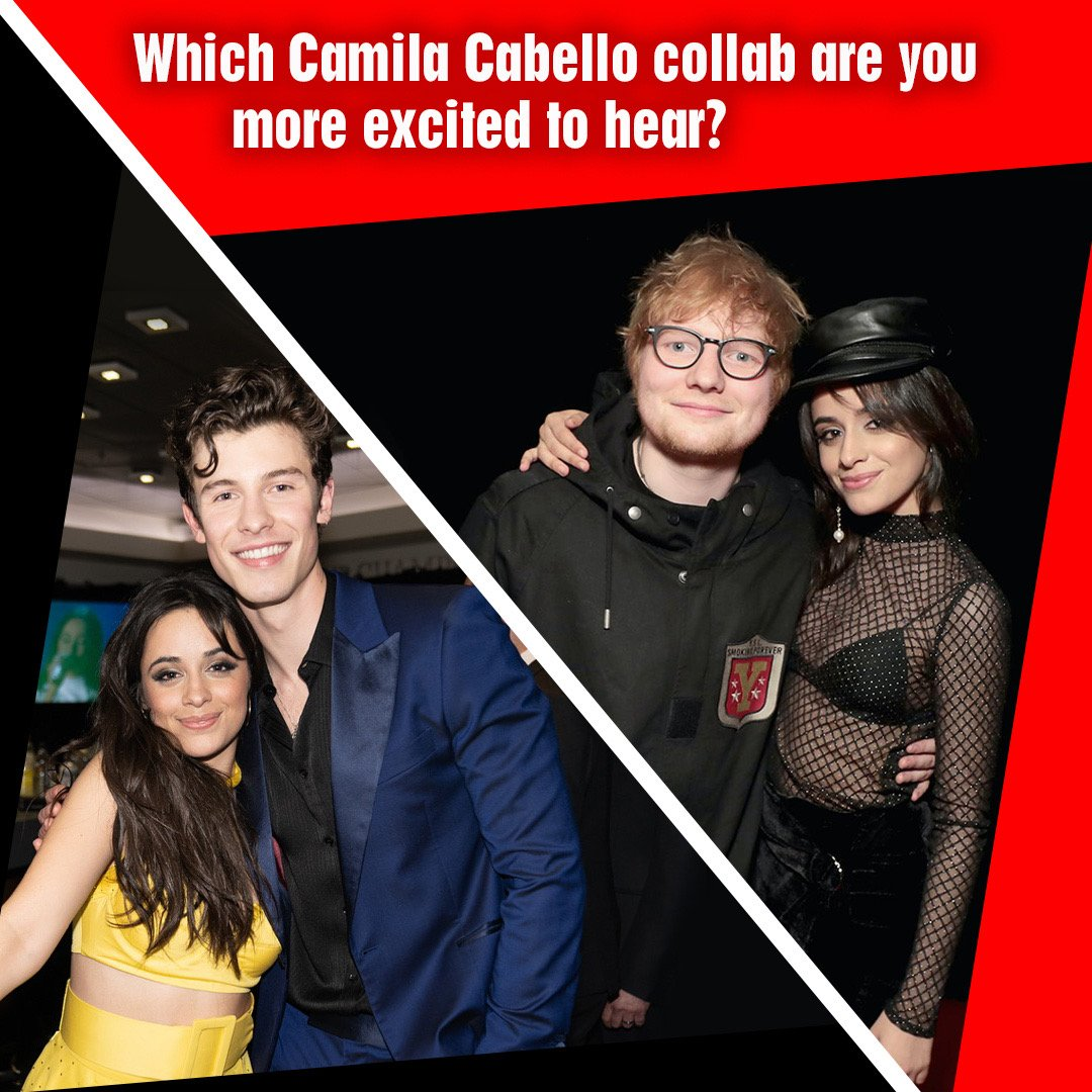 We cant wait to hear #NBT alum @Camila_Cabellos new songs with @ShawnMendes & @edsheeran!