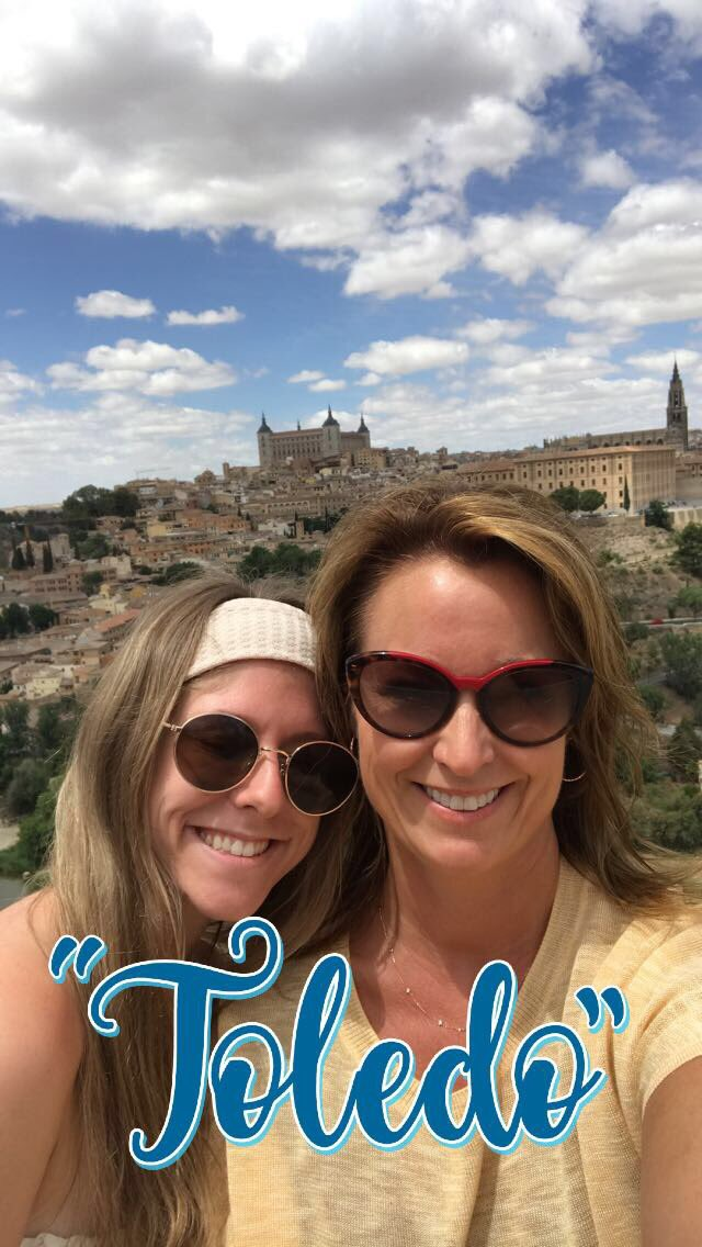 Something amazing happens when you take the time to explore and enjoy a new culture and country! #madrid #barcelona #grateful