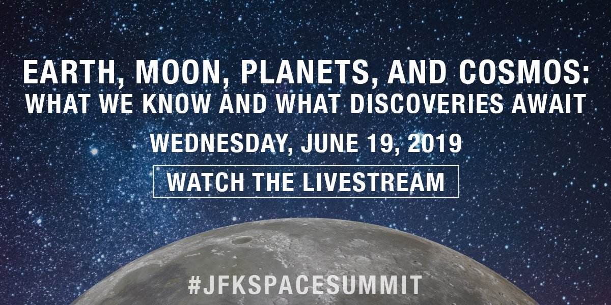 HAPPENING NOW: Livestream our incredible panel of scientists, including @NASAEarth Science Division Director Dr. Michael Freilich whose satellite-based missions have lead to ground-breaking discoveries about our planet. @CNN's @secupp moderates.🌑🚀 jfklibrary.org/watch-the-jfk-…