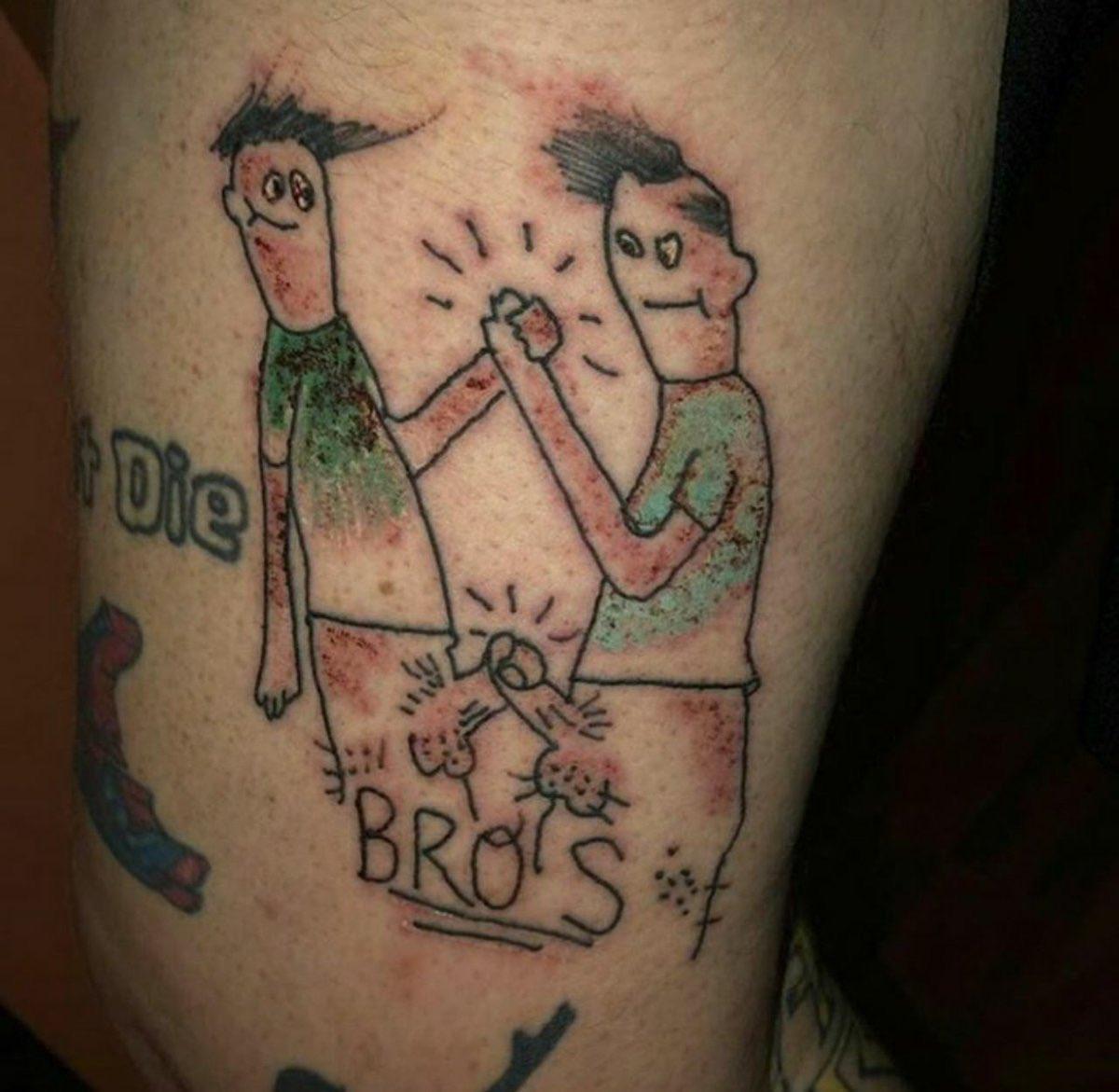 Татуировки смешные картинки, прощенье