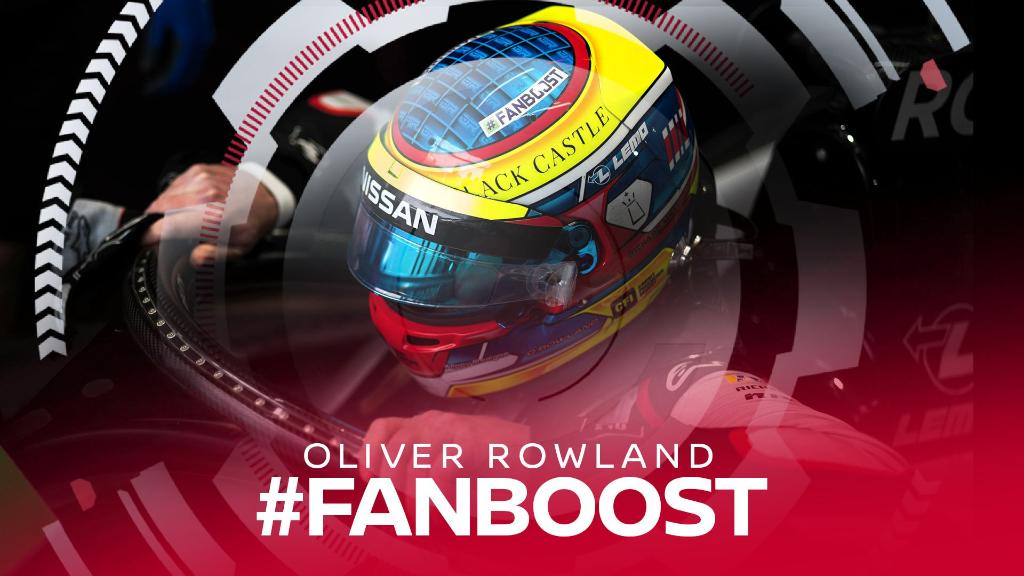 Our man @oliverrowland1 is chasing his third podium and fourth pole at the #BernEPrix. Give him your #FANBOOST vote at: http://nssn.co/lbnRD5 or tweet the hashtags #FANBOOST and #OliverRowland. #NissanFormulaE