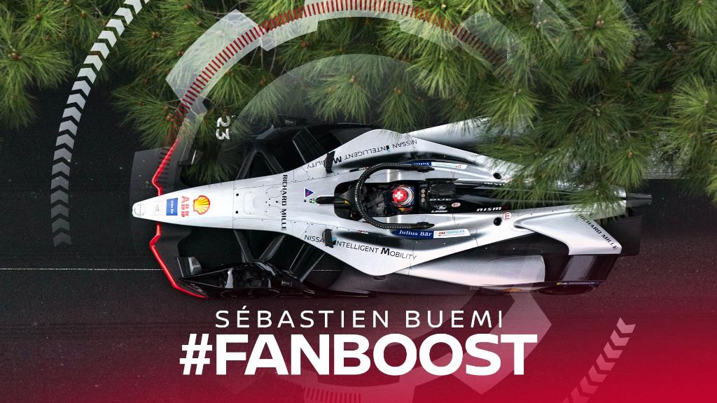 Throw your #FANBOOST support behind @Sebastien_buemi this week as he battles at his home race at the #BernEPrix for #Nissanedams. Click here to vote now: http://nssn.co/iOKd3x or tweet the hashtags #FANBOOST and #SebastienBuemi.