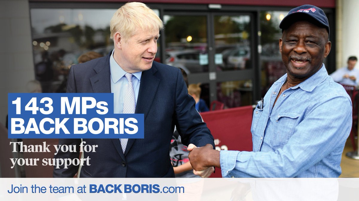 Thank you once again to friends and colleagues for your support in the third ballot - especially on my birthday! We've come a long way but we have much further to go. Join the #BackBoris team 👉 backboris.com