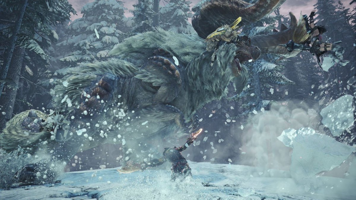 Monster Hunter World: Iceborne gets a PS Plus-exclusive Beta this weekend: http://play.st/2xadP5P  Second round next weekend for all PS4 players!