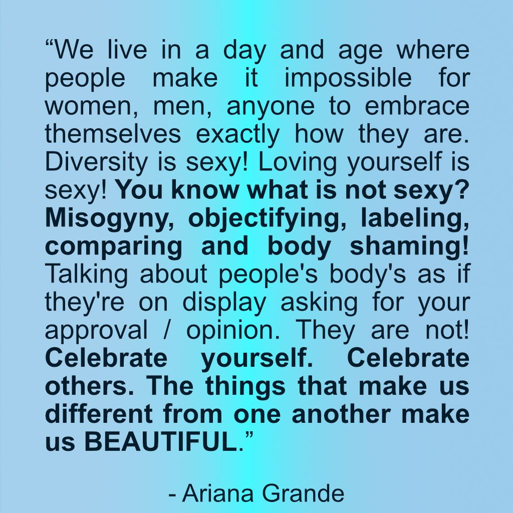 TRUTH.  #celebrate #love #respect #compassion #understanding #quote #quotes #arianagrande #support #world #people #men #women #today #now