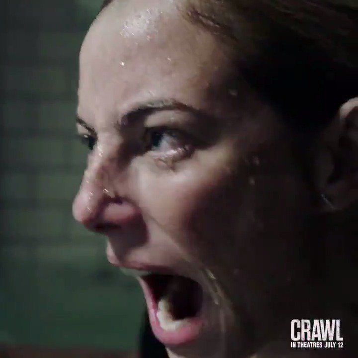 This summer, swim like hell. Don't miss #CrawlMovie in theatres July 12.