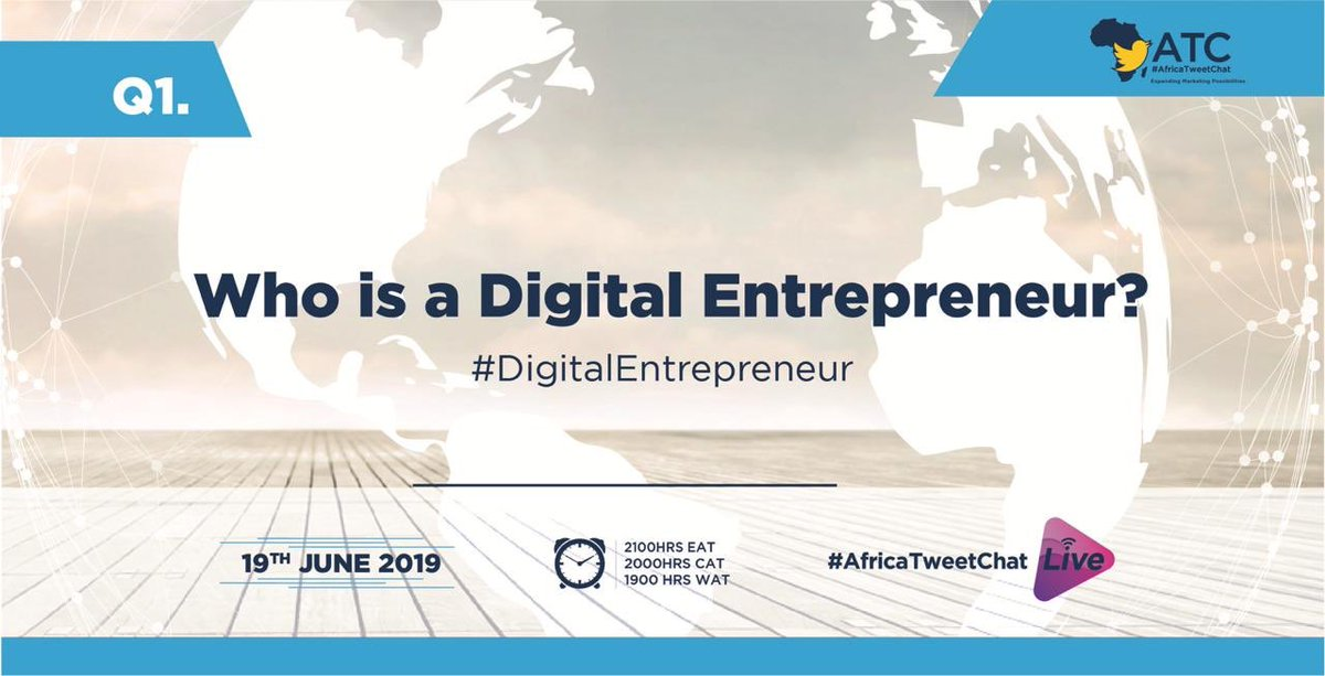 Q1. Who is a digital entrepreneur?  @CiruEdith1 #AfricaTweetChat<br>http://pic.twitter.com/hAOhc56LWB