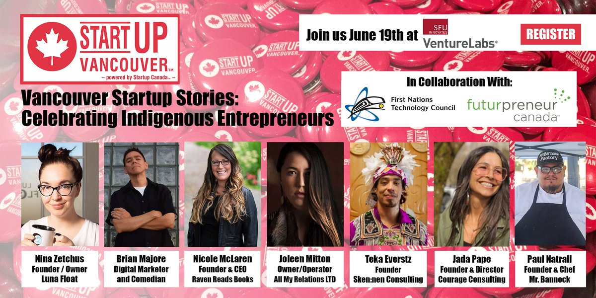"""Big thanks to @VentureLabs_ca for providing their amazing space to host #VanStartupStories """"Celebrating Indigenous Entrepreneurs"""" event tonight! Join us, we still have a couple of tickets available >> https://www.eventbrite.ca/e/vancouver-startup-stories-celebrating-indigenous-entrepreneurs-tickets-62387705306… @Startup_Canada @FuturpreneurBC"""