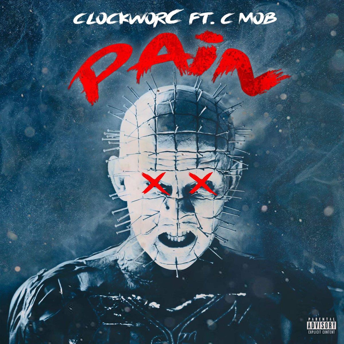 ⚔️PAIN⚔️ Single Coming Soon... Ft @cmob765 Prod @iniko_beats Grafix @infgang . . . . #ClockworC #CMob #Pain #banger #single #comingsoon #raw #hiphop #boombap #rap #soul #undergroundhiphop #destruction #beats #production #hellraiser #leggo