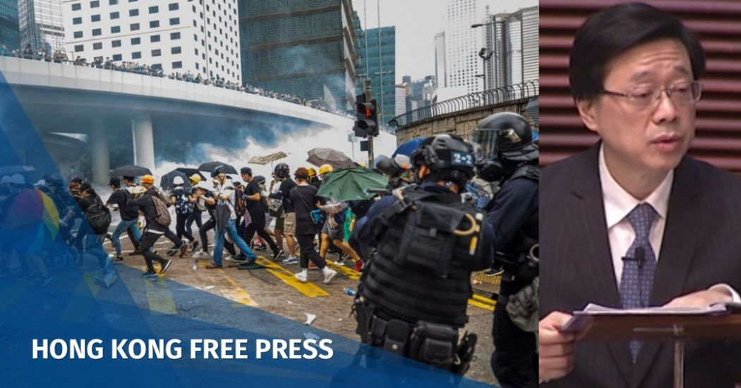 Video: Hong Kong security chief apologises over extradition debacle, as lawmakers slam police use of force @krislc #hongkong #notochinaextradition  https://www.hongkongfp.com/2019/06/19/video-hong-kong-security-chief-apologises-extradition-debacle-lawmakers-slam-police-use-force/…
