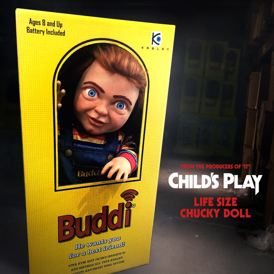 It's playtime! Tweet or RT a post from @ChildsPlayMovie with the hashtags #ChildsPlayMovie + #Sweepstakes before midnight for your chance to win a life-sized CHUCKY doll. Five lucky runners up will receive Child's Play prize packs. 🔪 Subj2Rules@ http://bit.ly/BuddiSweeps