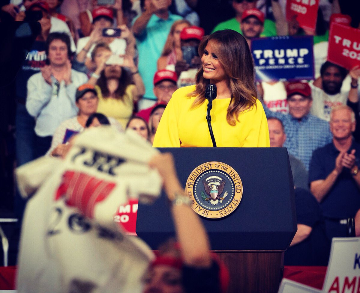 Last night's rally was so full of energy! @potus and I will fight for this incredible country as long as we can. Thank you Orlando! 🇺🇸