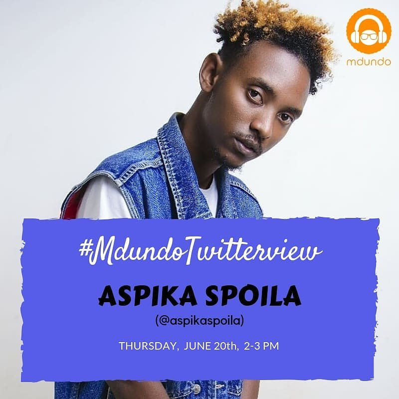 Hey Twitter Fam 2moro it's going down #mdundotwitterview with @mdundomusicUg I will be answering all your questions you might have starting 2pm - 3pm Nairobi Time. don't forget to download the new classic Mdundo app for Google Play store and stream some of my music