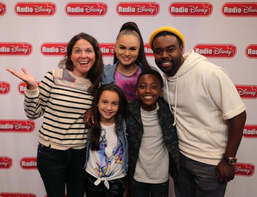 Listen to Radio Disney today to hear the cast of #JustRollWithIt talking about their new series that premieres TONIGHT on @DisneyChannel! radiodisneyapp.com