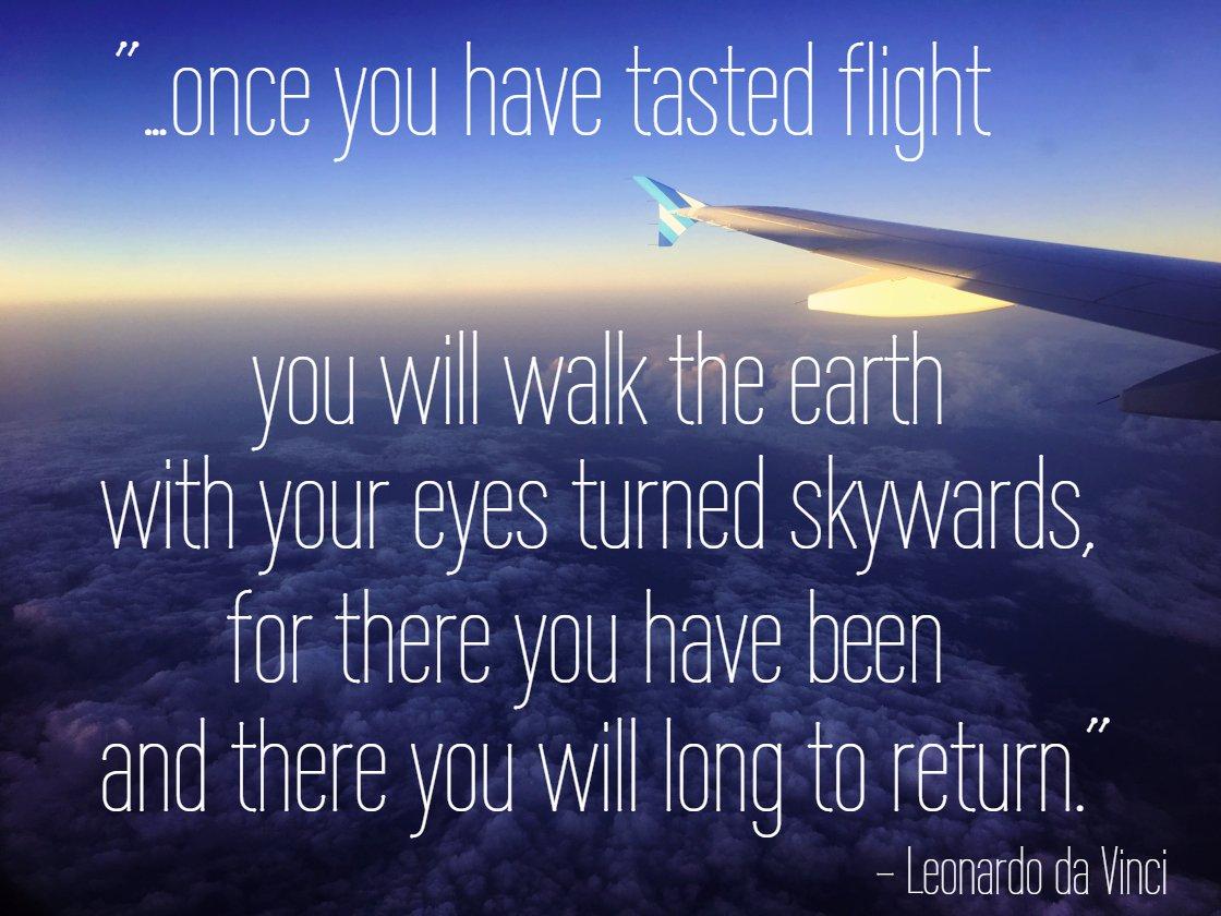 Wednesday Wisdom! Who can relate? ✋  #pilot2pilot #leonardodavinci #aviation #aviationenthusiasts #pilots #aviationlovers