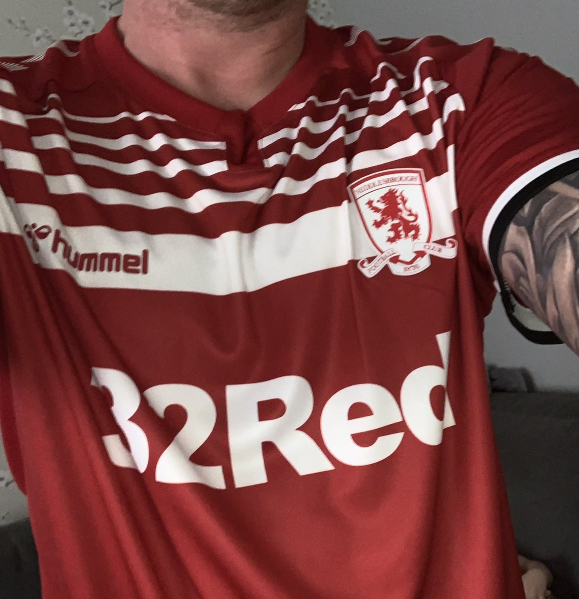 Just got my Father's Day present today in the post better late then never thanks to my wife and kids xx #Boro #UTB #myteam