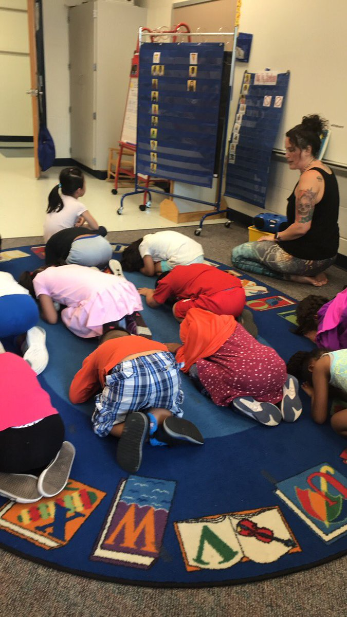So much fun doing yoga  with Ms. Liat on Career day! <a target='_blank' href='http://twitter.com/HFBAllStars'>@HFBAllStars</a> <a target='_blank' href='http://twitter.com/APS_EarlyChild'>@APS_EarlyChild</a> <a target='_blank' href='http://search.twitter.com/search?q=HFBTweets'><a target='_blank' href='https://twitter.com/hashtag/HFBTweets?src=hash'>#HFBTweets</a></a> <a target='_blank' href='http://search.twitter.com/search?q=Namaste'><a target='_blank' href='https://twitter.com/hashtag/Namaste?src=hash'>#Namaste</a></a> <a target='_blank' href='https://t.co/Po8W14TFDH'>https://t.co/Po8W14TFDH</a>