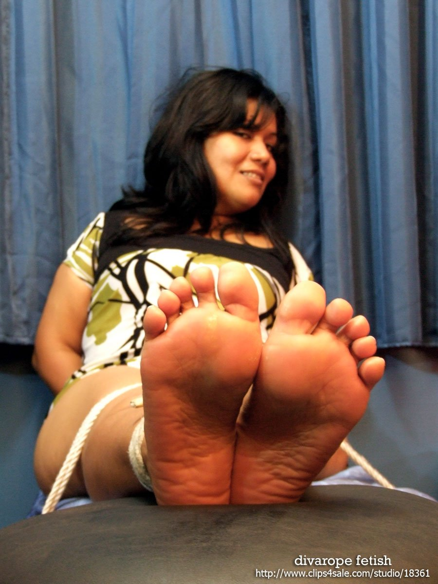 Four tickled soles