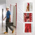 Image for the Tweet beginning: ZipWall® Heavy-Duty zippers are the