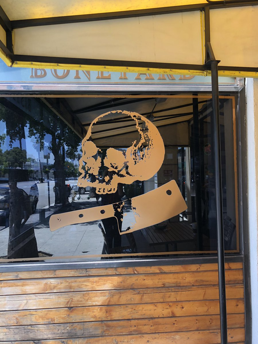 A lot of restaurants seem to have the skull motif here in L.A. Just saying.