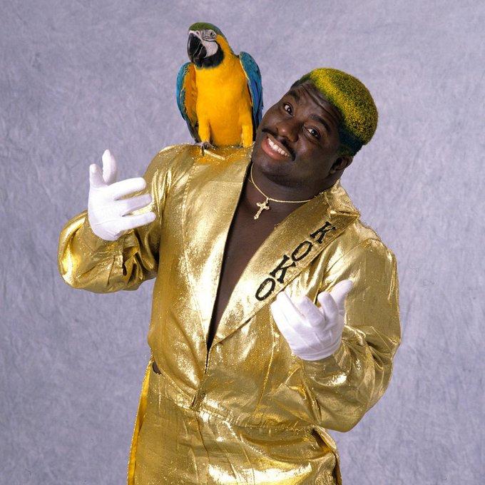 "Happy birthday to \""The Birdman\"" and Hall of Famer, Koko B. Ware!"
